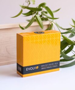 Healthy Color Trip from Evolvh Hair Care front of box