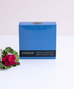 Healthy Curls Trip box from Evolvh haircaare at changes