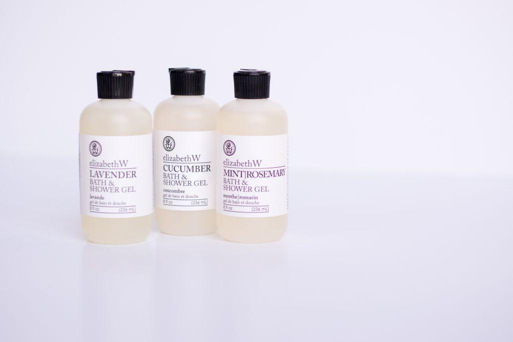 Elizabeth W Bath Shower Gels