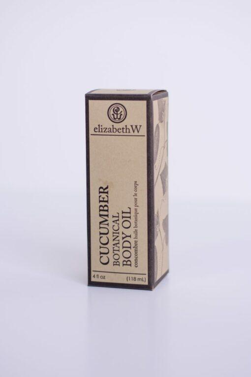 Cucumber Body Oil box