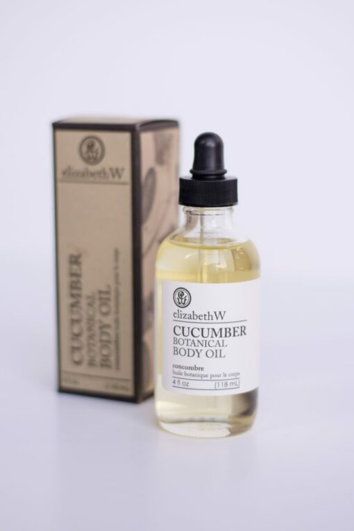 Cucumber Body Oil