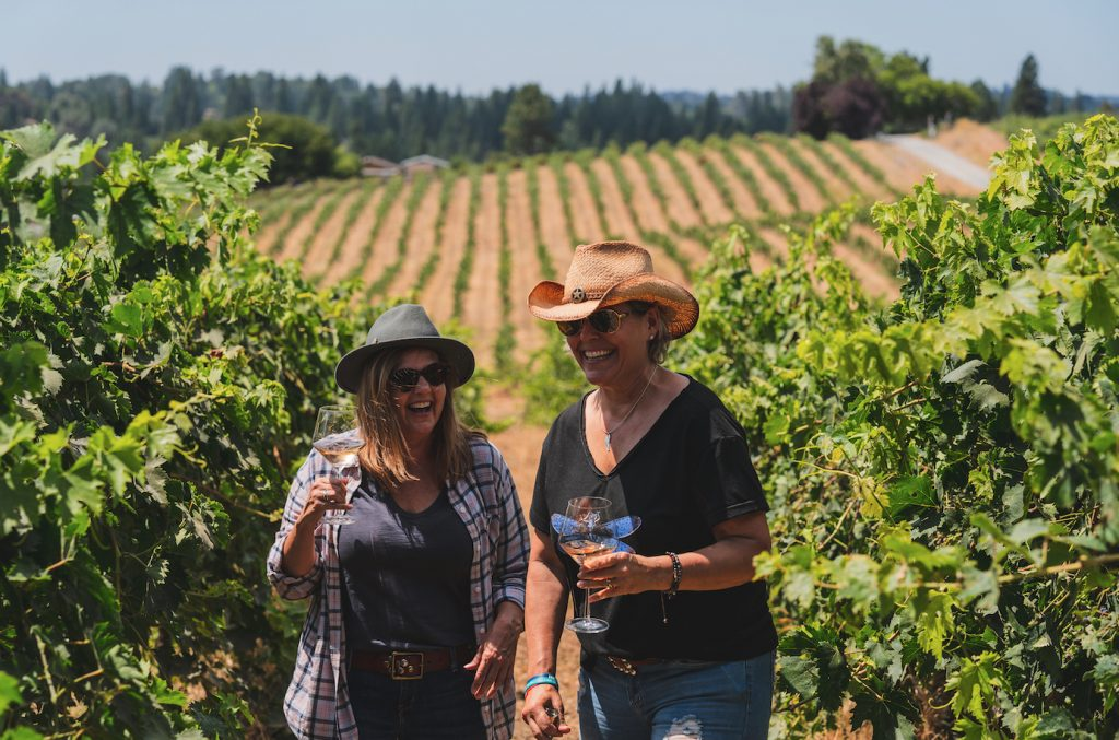 Teneral Cellars women owned wine company