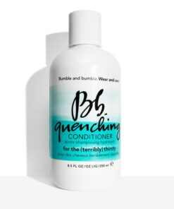 bottle of quenching conditioner from changes salon